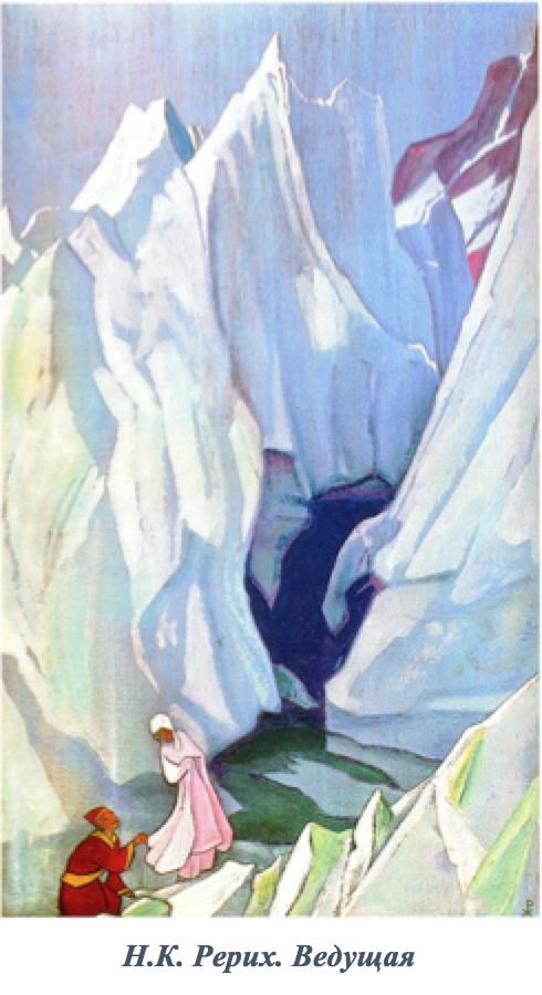 Картина Рериха. Ведущая